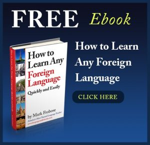Free Learn Any New Foreign Language Ebook