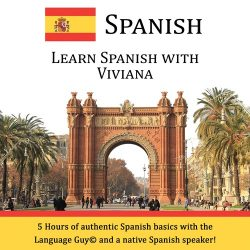 Learn Spanish With Viviana - CD