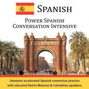 Power Spanish Conversation Intensive - CD