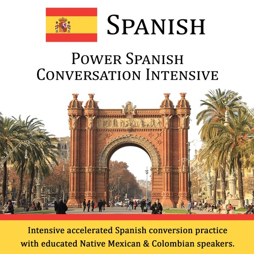 Power Spanish Conversation Intensive - CD