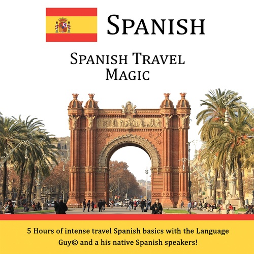 Spanish Travel Magic - CD